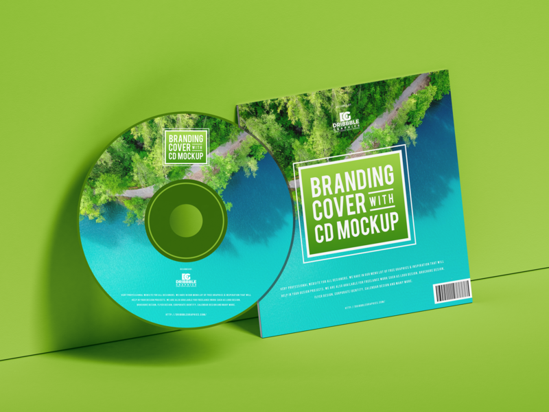 Free Branding Cover With CD Mockup psd print template stationery mockups cd cover mockup identity freebie free cd mockup packaging mockup mockup psd mockup free free mockup mock-up mockup packaging branding mockup download branding