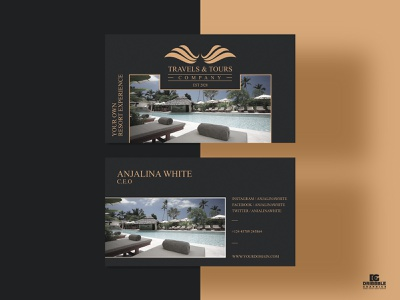 Free Travels & Tours Business Card Design print print design design graphic design download free freebie freebies free template templates template business card design business cards business card businesscard tours business card travel business card
