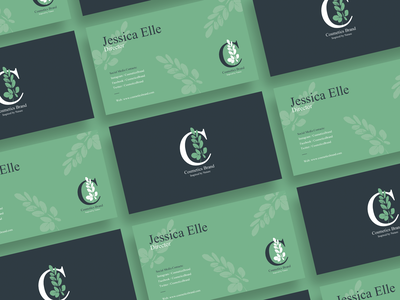 Free Cosmetics Brand Business Card Design designers creative print design print download graphics design free template templates template cosmetics business card free business card business card template business card design business card