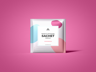Free Product Sachet Mockup psd print template stationery mockups logo identity freebie free packaging mockup mockup psd mockup free free mockup mock-up mockup packaging download branding