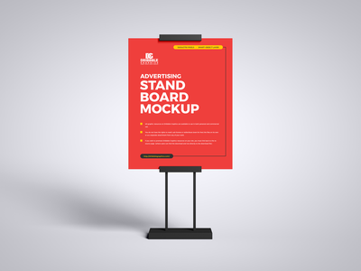 Free Advertising Stand Board Mockup psd print template stationery mockups board mockup identity freebie free banner mockup poster mockup mockup psd mockup free free mockup mock-up mockup frame stand mockup download branding