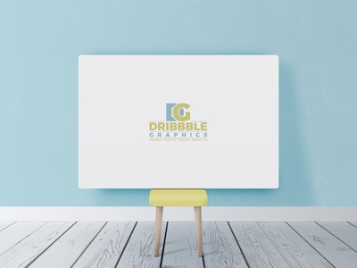 Free Beautiful Horizontal Poster Canvas in Room Mockup