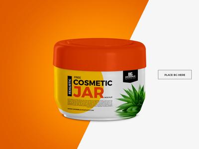 Free Cosmetic Jar Mockup mockup template free psd mockup freebie free mockup mockup free psd mockup mockup jar mockup cosmetic mockup cosmetic jar mockup