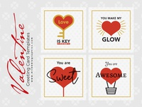 4 Free Valentine Greeting Card Templates