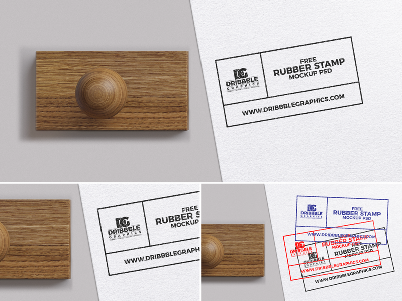 Free Rubber Stamp Mockup Psd 2018 by Jessica Elle - Dribbble