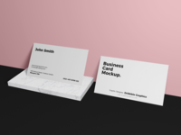 Free Business Card Brand Mockup Psd 2018