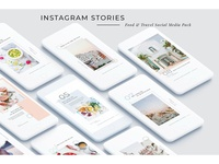 Food & Travel Instagram Stories Pack 2018 Freebie