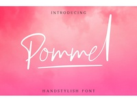 Free Pommel Handstylish Script Demo