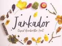 Free Jankador Handwriting Font
