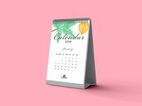 Free Calendar Mockup