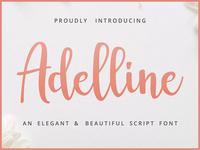 Adelline Elegant Script Demo Free
