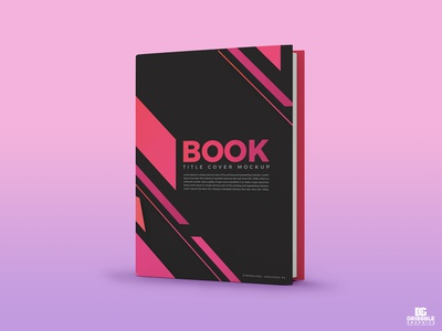 Free Book Title Cover Mockup advertising template free psd mockup freebies mockup template free branding psd mockup psd mockup psd mockup free mockup free mockup freebie book mockup