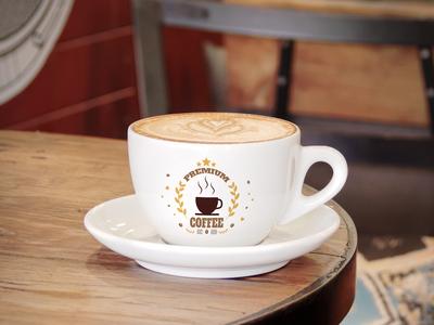 Free Logo Branding Coffee Cup Mockup PSD
