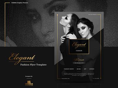 Free Elegant Fashion Flyer Template flyer design design graphic design freebie free template template fashion flyer templates fashion flyer flyer template