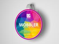 Free Branding Wobbler Mockup Psd