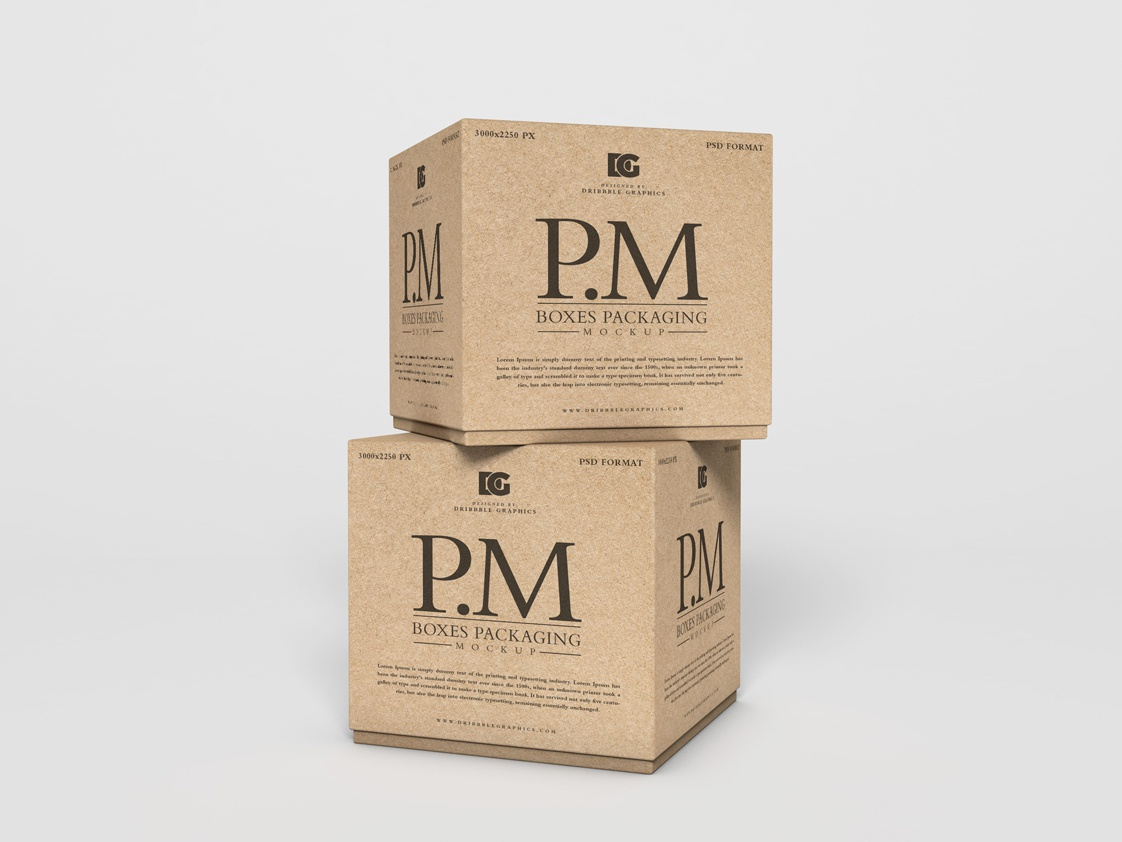 Free Craft Boxes Mockup PSD freebies free psd mockup mockup template branding psd mockup mockup psd mockup free mockup free mockup packagedesign mock-up freebie free psd box mockup box packaging mockup packaging