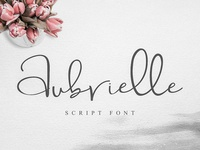 Free Aubrielle Script Font Demo