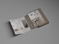 Free Bi-Fold Brochure Mockup PSD
