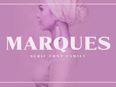 Marques Serif Font Free Demo
