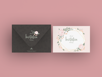 Free Brand Invitation Card Mockup