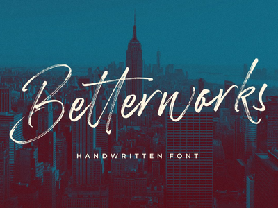 Betterwork Handwritten Script Demo Free