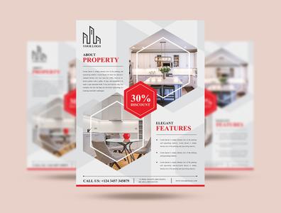 Free Real Estate Flyer Design Template