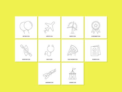 Free Modern Line Icons vectors uiux web freebie freebies free icon download free icon set free icons icon design icon set icons