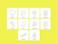 Free Modern Line Icons