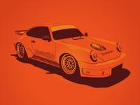 Jagermeister Tribute Porsche 911 Race Car