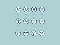 Retro Emojis