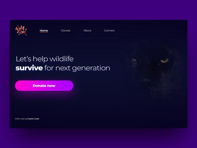 Wildlife Organization Landingpage