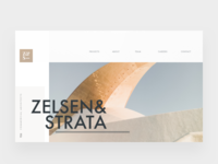 Architecture Firm Homepage Hero