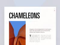 Chameleons Article