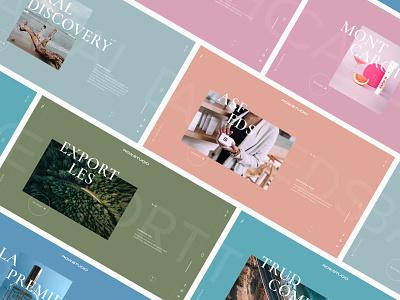 ROW.STUDIO case typography interface web design ux colorful agency studio graphic design design adaptive promo mobile ui minimal flat interaction