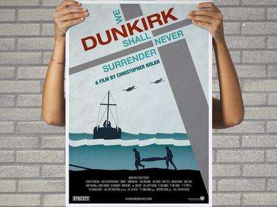 Artistic/Alternative DUNKIRK film poster