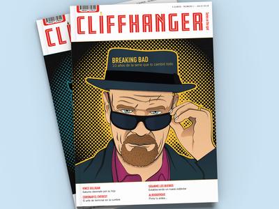 Magazine Cover Design +  Breaking Bad Illustration