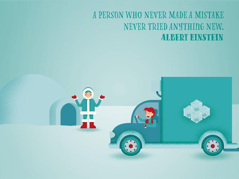 Illustrated Quotes: Albert Einstein einstein motivational quotes motivational poster textured graphic deisgn flat design illustration vector adobe illustrator cc