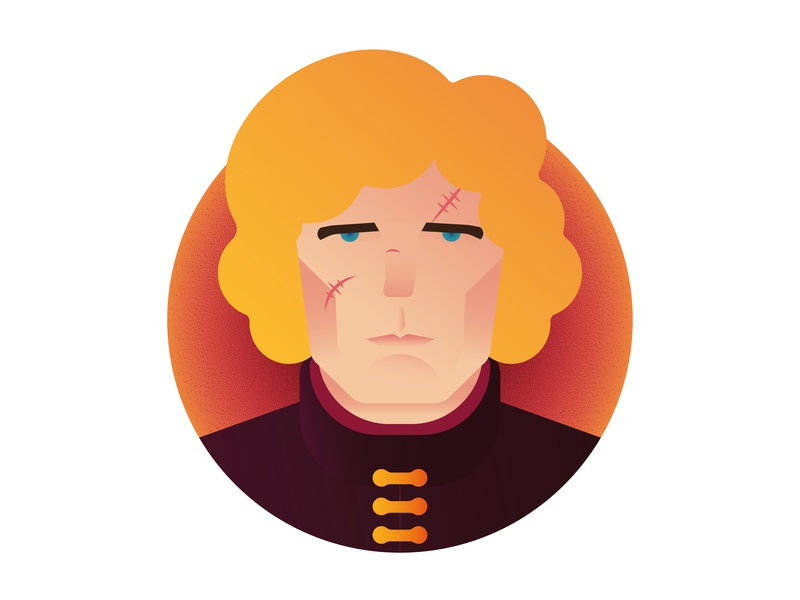Winter is Here: Tyrion Lannister (Game of Thrones Characters) winter is coming vector artwork minimalism the imp icon a day icon tyrion lannister gameofthrones graphic deisgn flat design illustration vector adobe illustrator cc