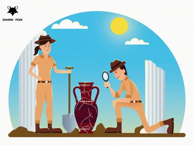 Archaeologists - Dress for the Job You Want!!