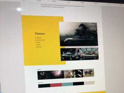 Renault Personality Guidelines for Social advertising automotive renault art direction digital retouch branding