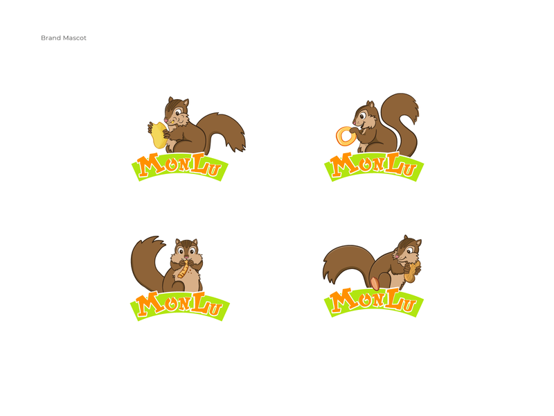 Brand Mascot brand system mascot design mascotlogo logo branding flat vector illustration
