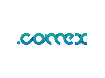 Comex Exhibition Logo bahrain muscat exhibition oman dubai art vector graphics illustration flat logo