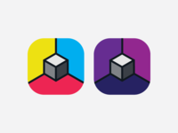 Prototyping icon for an app