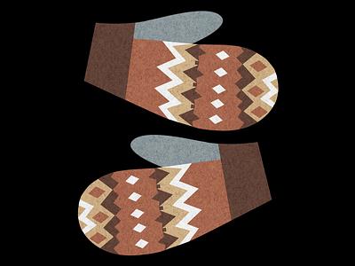 Bernie's Mittens photoshop knitted french paper illustration 2021 inauguration mittens bernie bernie sanders