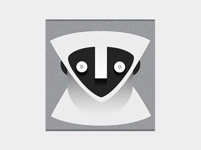 Monk Monkey blackandwhite monotone illustration characer graphic monkey illustrator cc vector