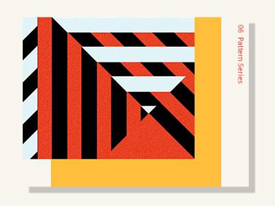 Pattern 9 inspiration design adobeillustator yellow orange abstract vector card graphic flat shape pattern