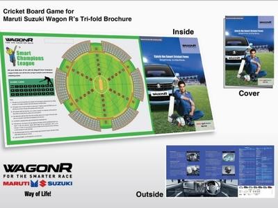 Cricket Board Game - Wagon R