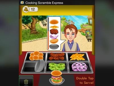 iOs Widget- Cooking Scramble Express