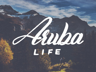 Aruba Life Logo Design