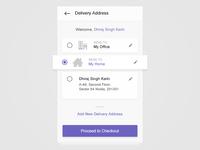 Choose Delivery Address